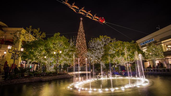 LAでクリスマス景色を満喫